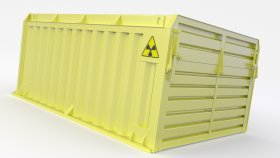 Container Nuclear 3d 2