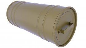 Metal Box & Cargo & Cases Industrial 3d 7