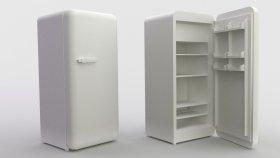 Lowpoly Refrigerator 3d