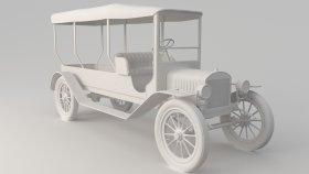 Oldsmobile Truck 3D Model 1
