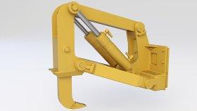 Ripper Bulldozer 3d 2