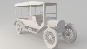 Oldsmobile Game Mods 3D Model 2