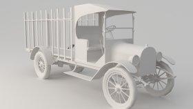 Oldsmobile Pickup Low 3D Model 4