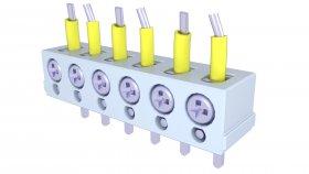 Electric Terminal Box 3d 4