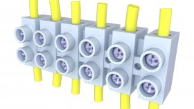 Electric Terminal Box 3d 7