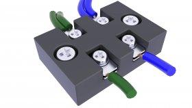 Electric Terminal Box 3d 8