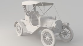 Oldsmobile 3D Model 1