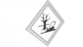 Sticker Symbol Warning Polluting 1 3d