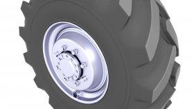 Construction Equipment Tire 3D Model 28