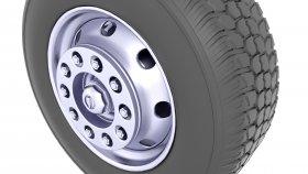 Semi Truck Tire 3D Model 29
