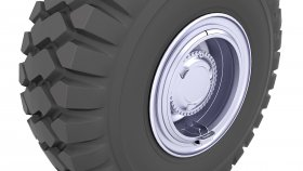 Tire Tractor & Truck 3d 30