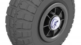 Tire Trolley 3d 34
