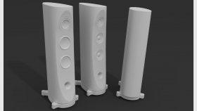 Speaker Modern 3d Model 5