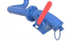 Petroleum Fuel Oil Valve 3D Model 14
