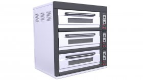 Industrial Bread Bakery Furnaces Pizza Oven 3d 6