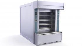 Industrial Bread Bakery Furnaces 3d 9
