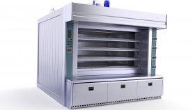 Industrial Bread Bakery Furnaces 3d 10