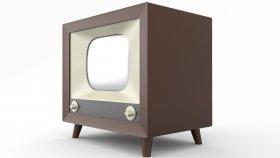 TV Old Retro 3d (2)