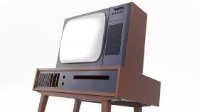Old TV Retro & Vintage 3d