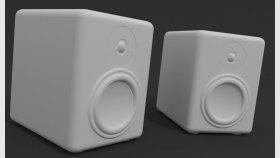 Audiophile Speaker Classic 3d Model 2