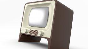 Old TV Retro & Vintage 3d 5