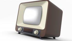 Old TV Retro & Vintage 3d 7