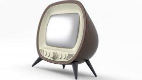 Old TV Retro & Vintage 3d 8