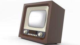 Old TV Retro & Vintage 3d 9