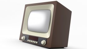 Old TV Retro & Vintage 3d 10