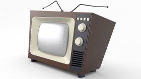 Old TV Retro & Vintage 3d 12