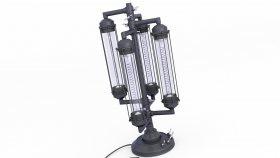 Lamp Table Steampunk & Loft 3d 317