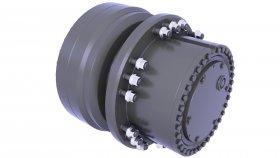 Brakes Drum Heavy Equipment & Truck 3d 3