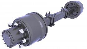 Suspension Rear Drive Axle 3d 29