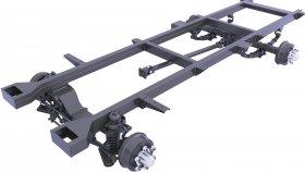 Suspension Rear Drive Axle 3d 31