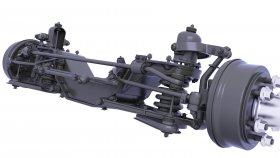 Suspension Rear Drive Axle 3d 32