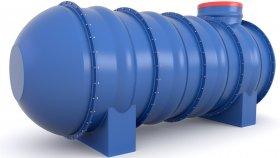 Septic & Water Tank 3D Model 18
