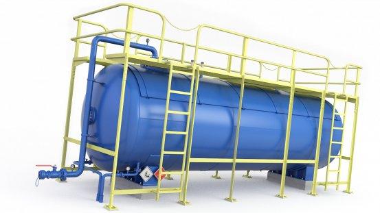 Pressure Tank LNG LPG Fuel Oil 3d 31