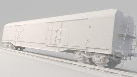 Refrigerator Car 3D Model 6