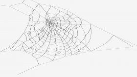 3D Model Spider Web 3