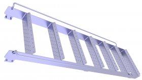 3D Ladder Industrial Model 9