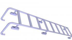 Ladder Industrial Swimming Pool 3D Model