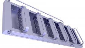 Ladder Auminum 3D Model 16