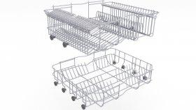 Dishwasher Basket 3D Model 6