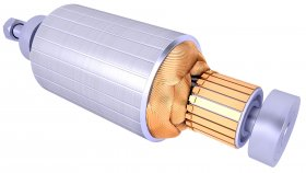 Electric Motor Rotor 3D Model 29