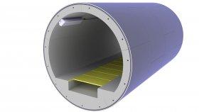 Tunnel Underground Sewerage 3D Model 20