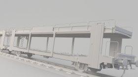 Autorack 3D Model
