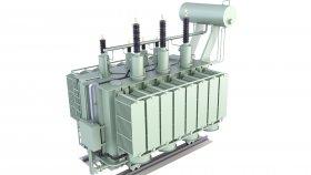 Low Polygon Power Distribution Transformer Game 3D Model 49