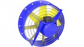 Cooling Fan for Transformer 3D Model 37