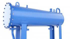 Pressure Tank Air & Gas & Fuel 3D Model 54