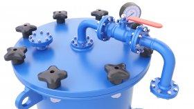 Industrial Pressure Vessel Air & Gas 3D Model 55